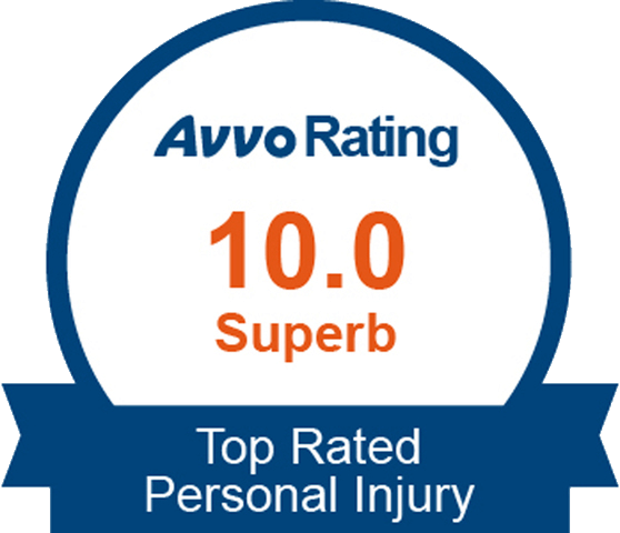 10 Star Rating on Avvo - Top Rated Personal Injury